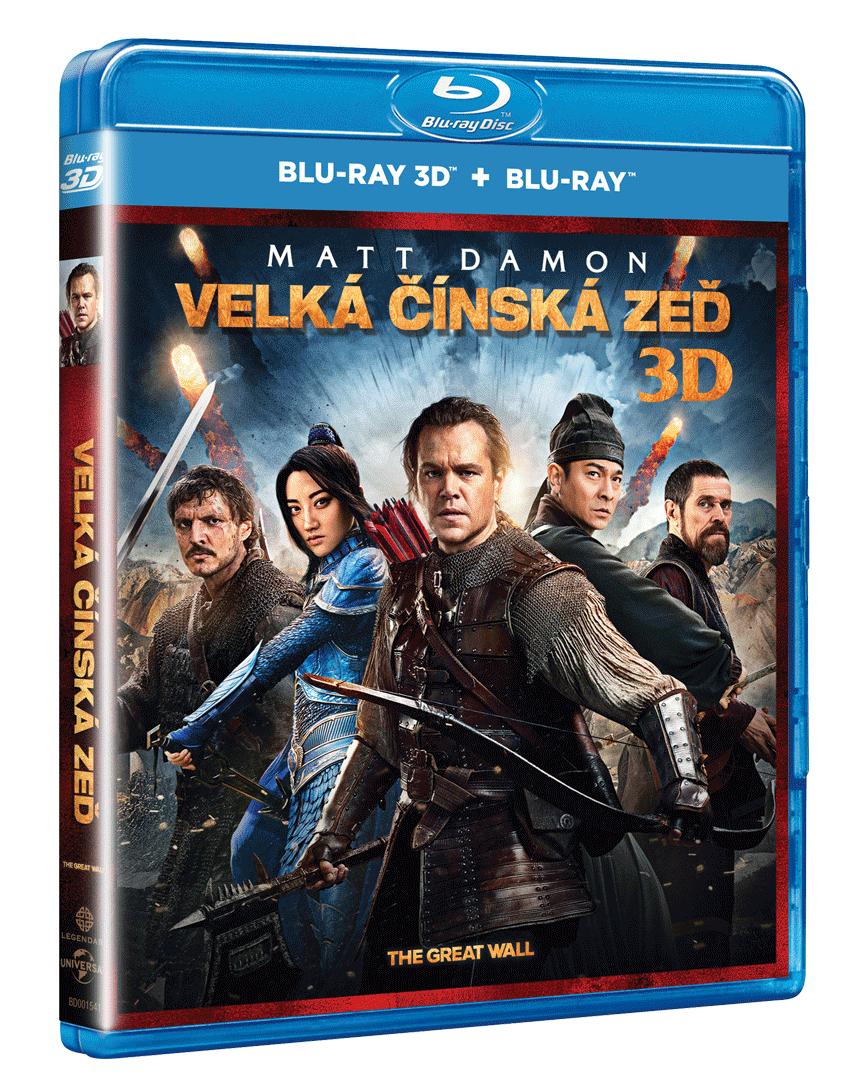 Velká čínská zeď (Blu-ray 3D + Blu-ray 2D)