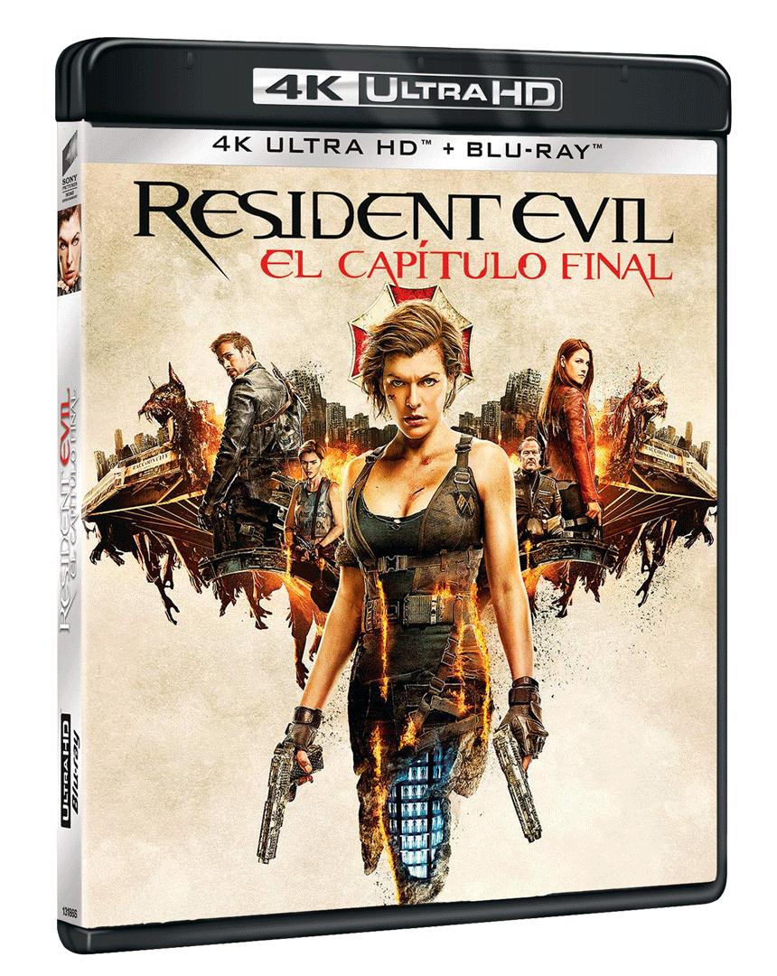 Resident Evil: Poslední kapitola (4k Ultra HD Blu-ray + Blu-ray)