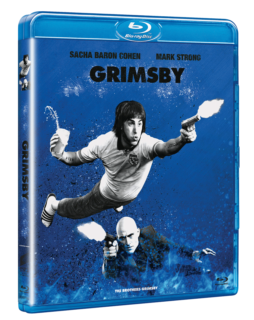 Grimsby (Blu-ray, Sony Big Face Edice)