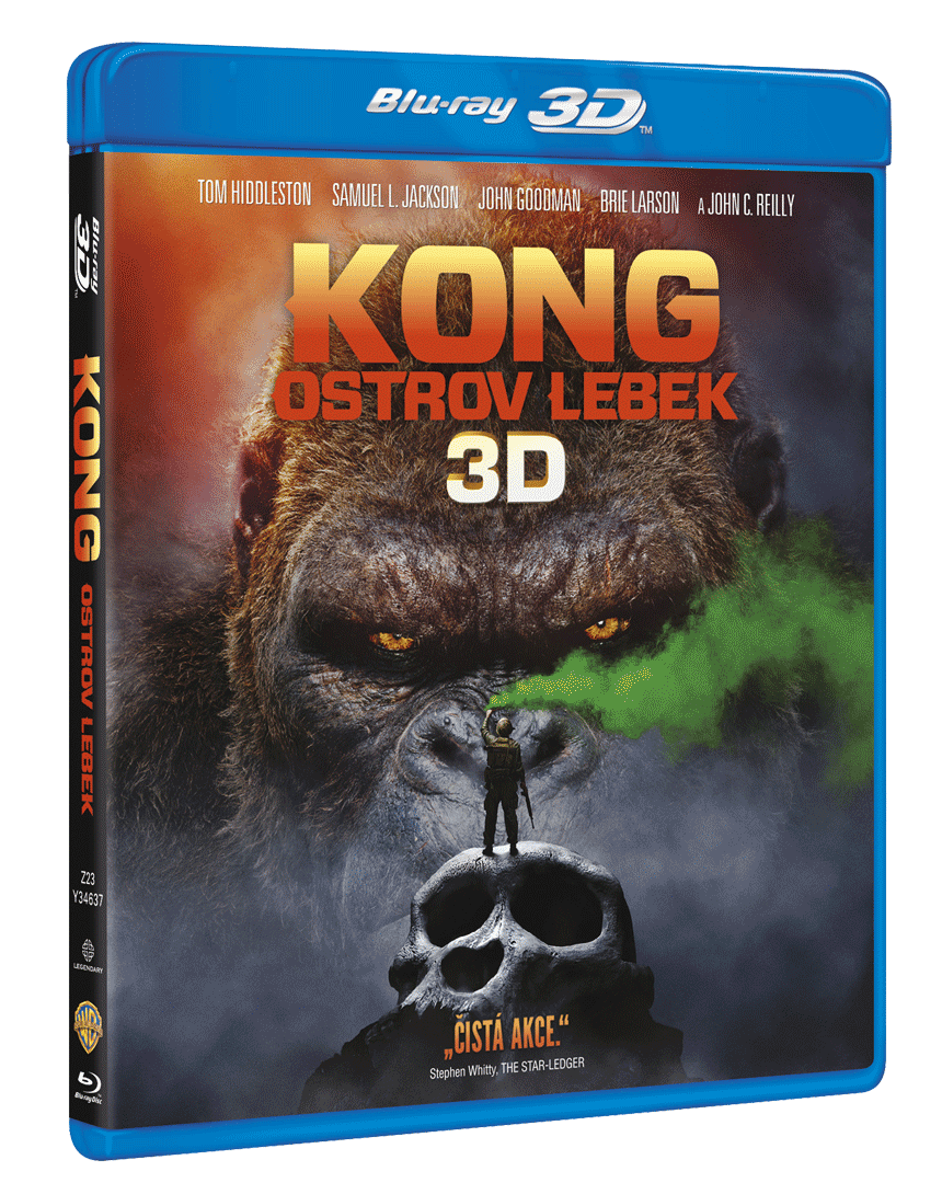 Kong: Ostrov lebek (Blu-ray 3D + Blu-ray 2D)