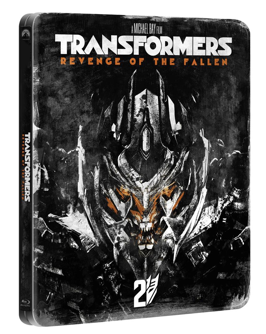 Transformers: Pomsta poražených (Blu-ray, Steelbook)