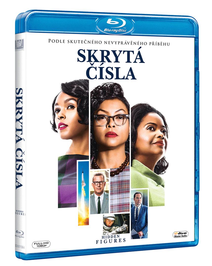 Skrytá čísla (Blu-ray)