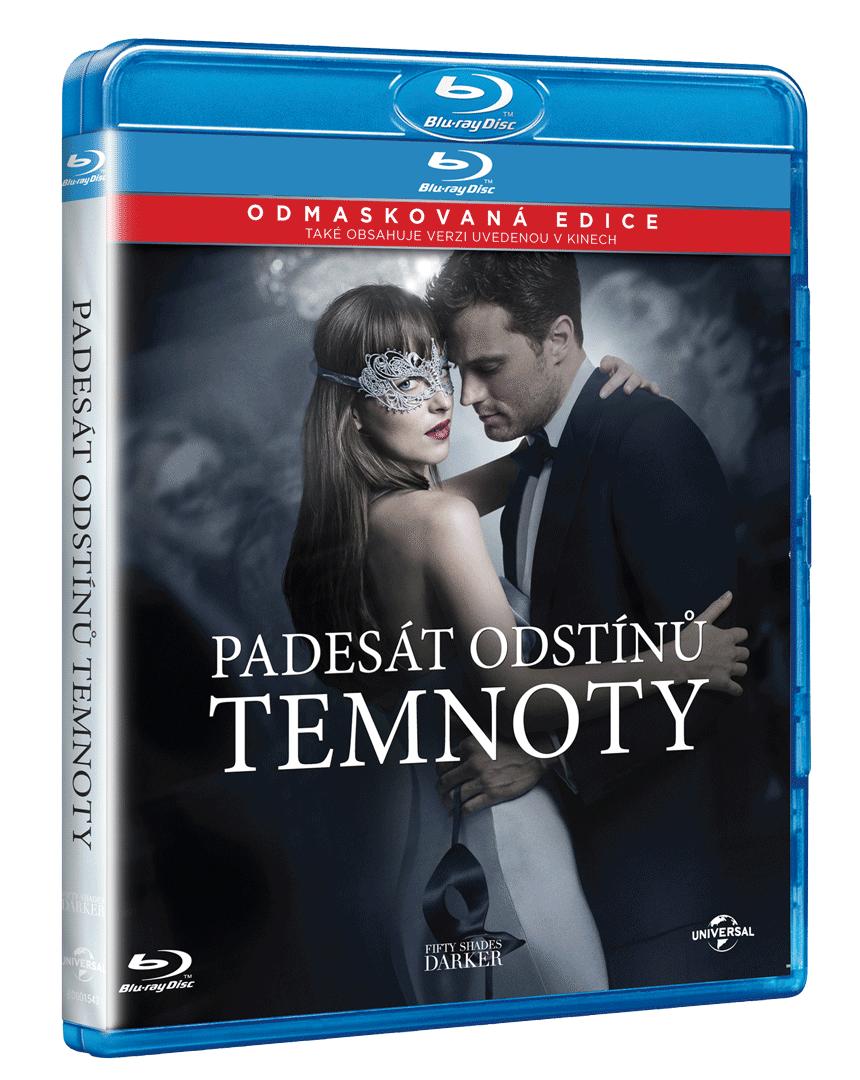 Padesát odstínů temnoty (Blu-ray s původní i s prodlouženou verzí + bonusové DVD)