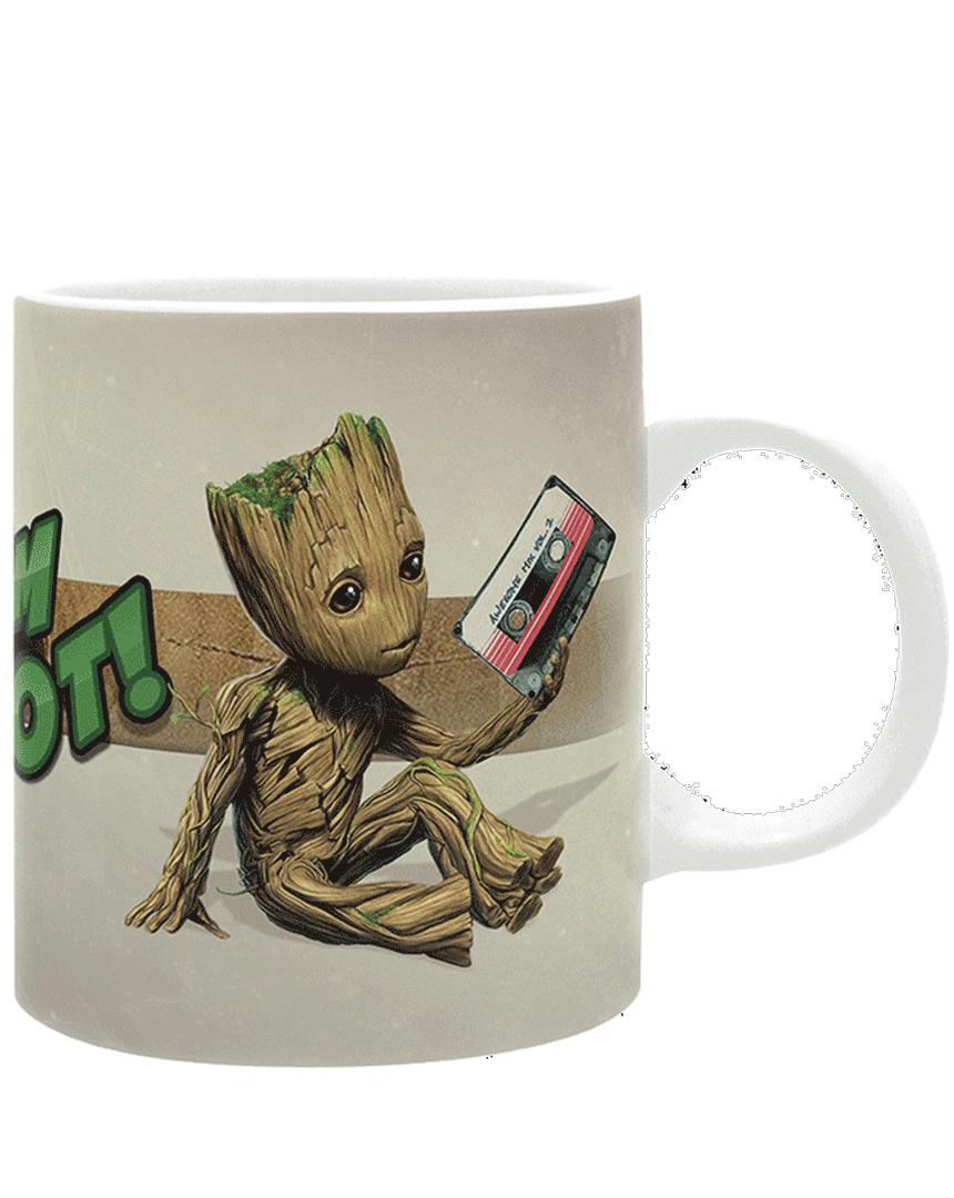 Hrnek Strážci Galaxie (Guardians of the Galaxy) - Groot
