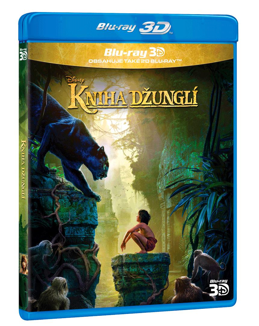 Kniha džunglí (Blu-ray 3D + 2D)