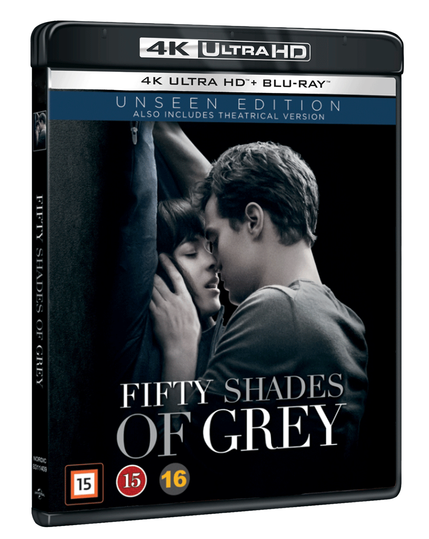 Padesát odstínů šedi (4k Ultra HD Blu-ray + Blu-ray) - Rozšířená i původní verze