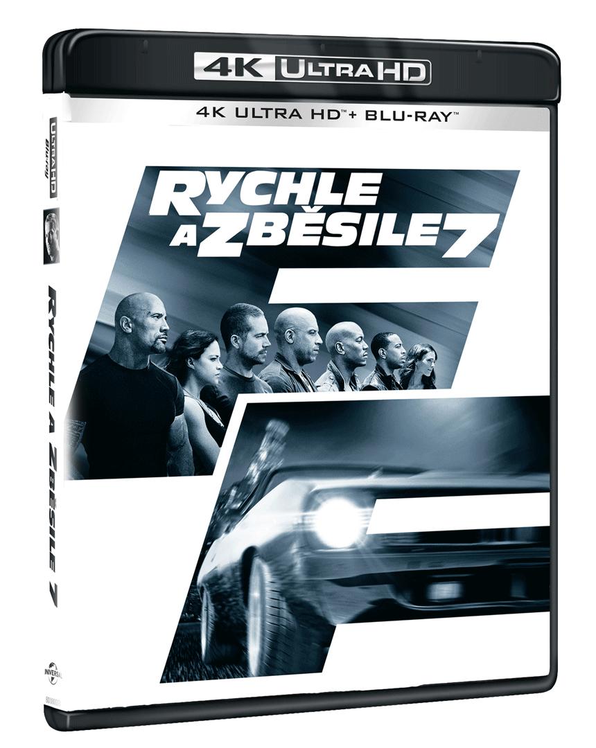 Rychle a zběsile 7 (4k Ultra HD Blu-ray + Blu-ray)