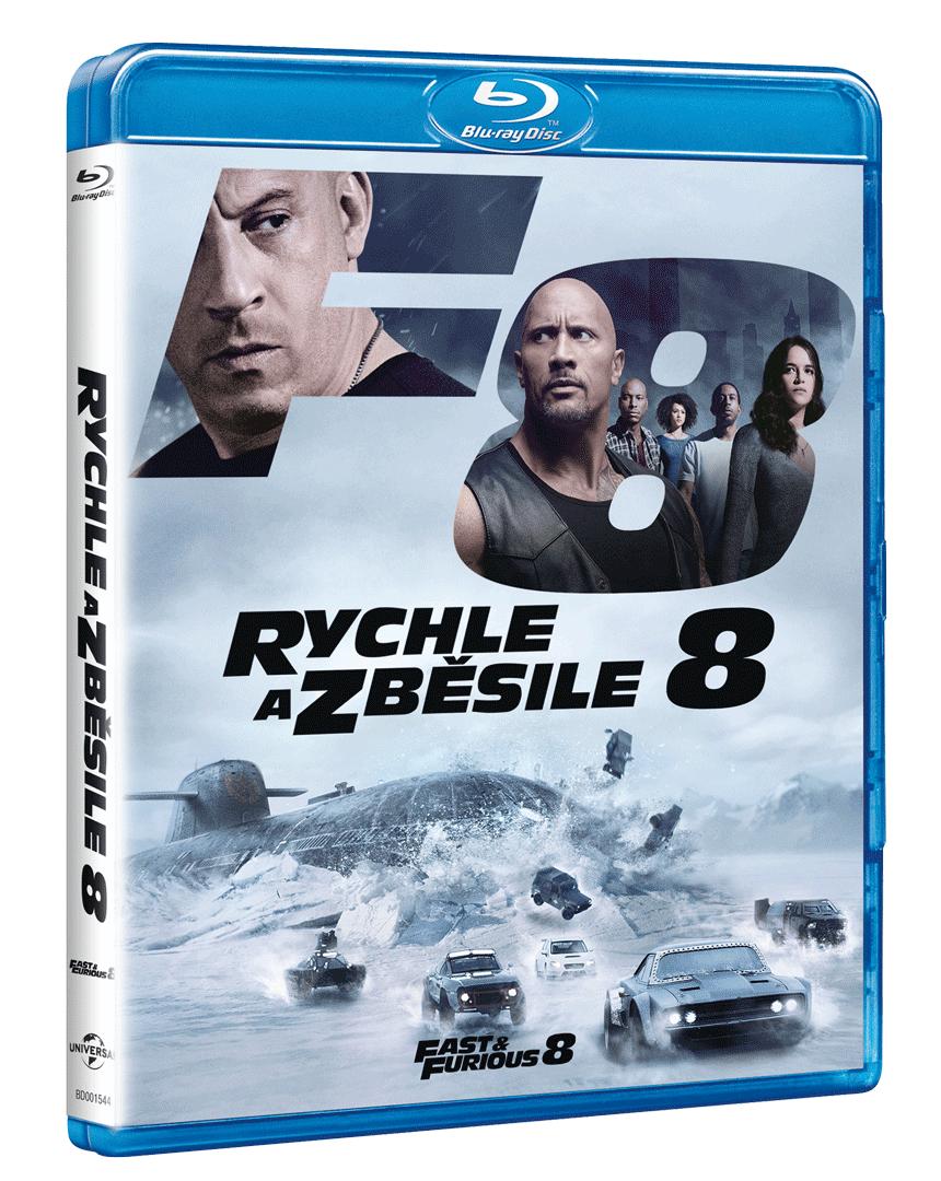 Rychle a zběsile 8 (Blu-ray)