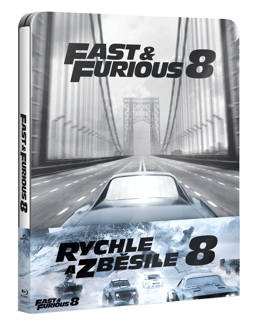 Rychle a zběsile 8 (Blu-ray, Steelbook)