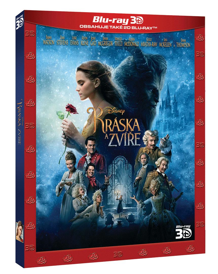 Kráska a zvíře (Blu-ray 3D + Blu-ray 2D)