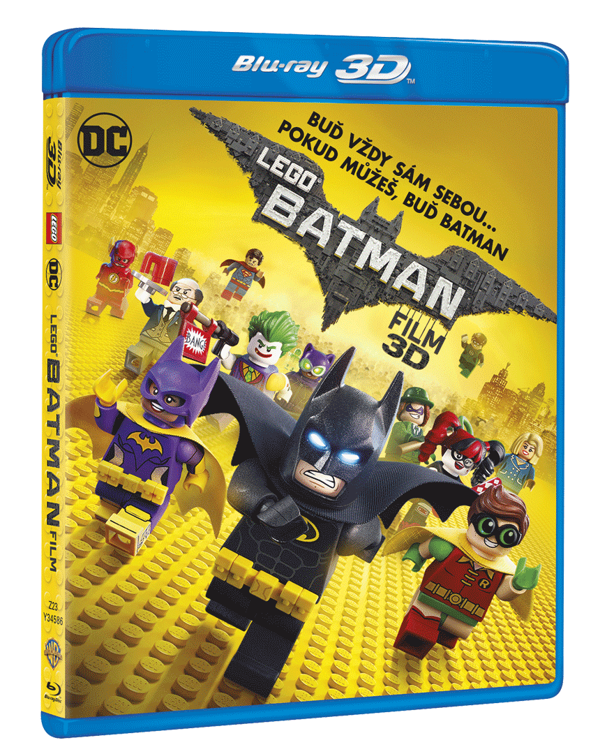 Lego Batman Film (Blu-ray 3D + Blu-ray 2D)
