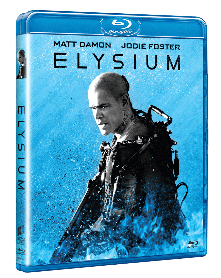 Elysium (Blu-ray, Sony Big Face Edice)