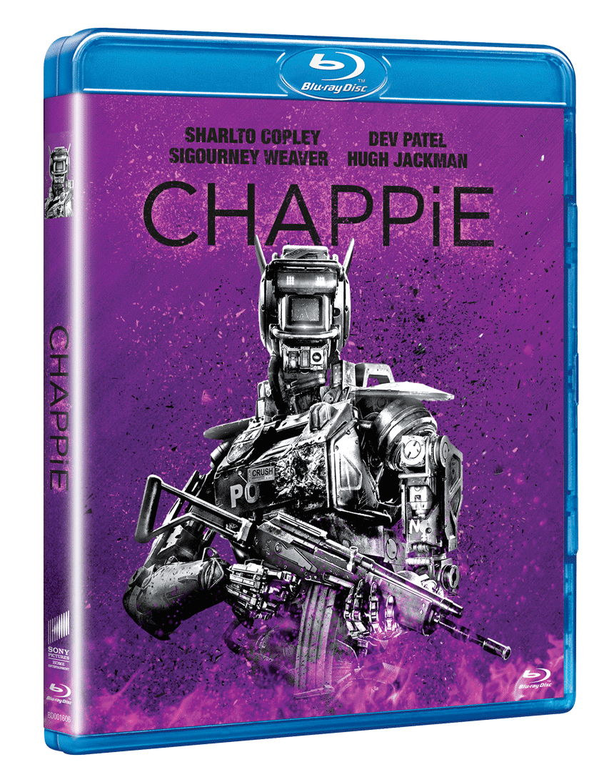 Chappie (Blu-ray, Sony Big Face Edice)