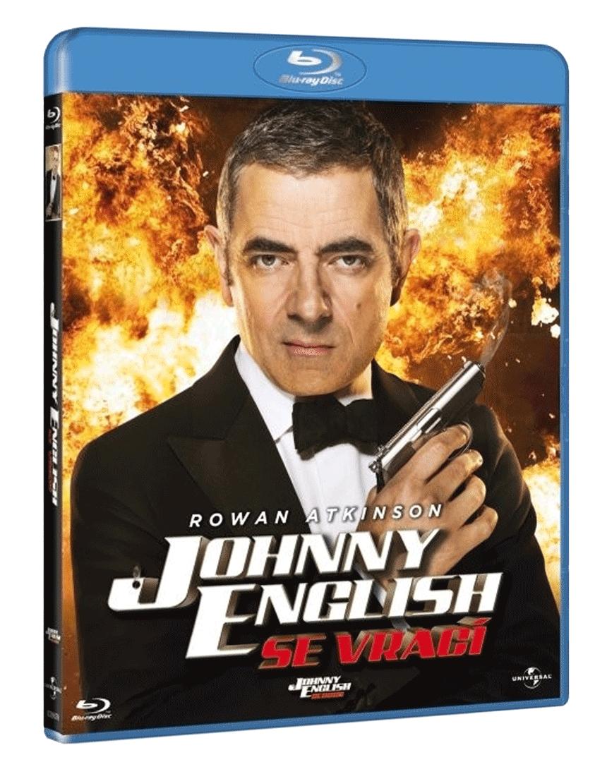 Johnny English se vrací (Blu-ray)