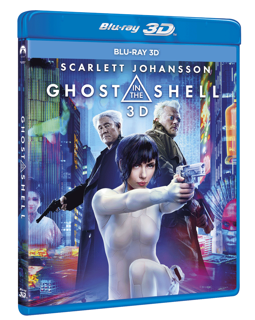 Ghost in the Shell (Blu-ray 3D)