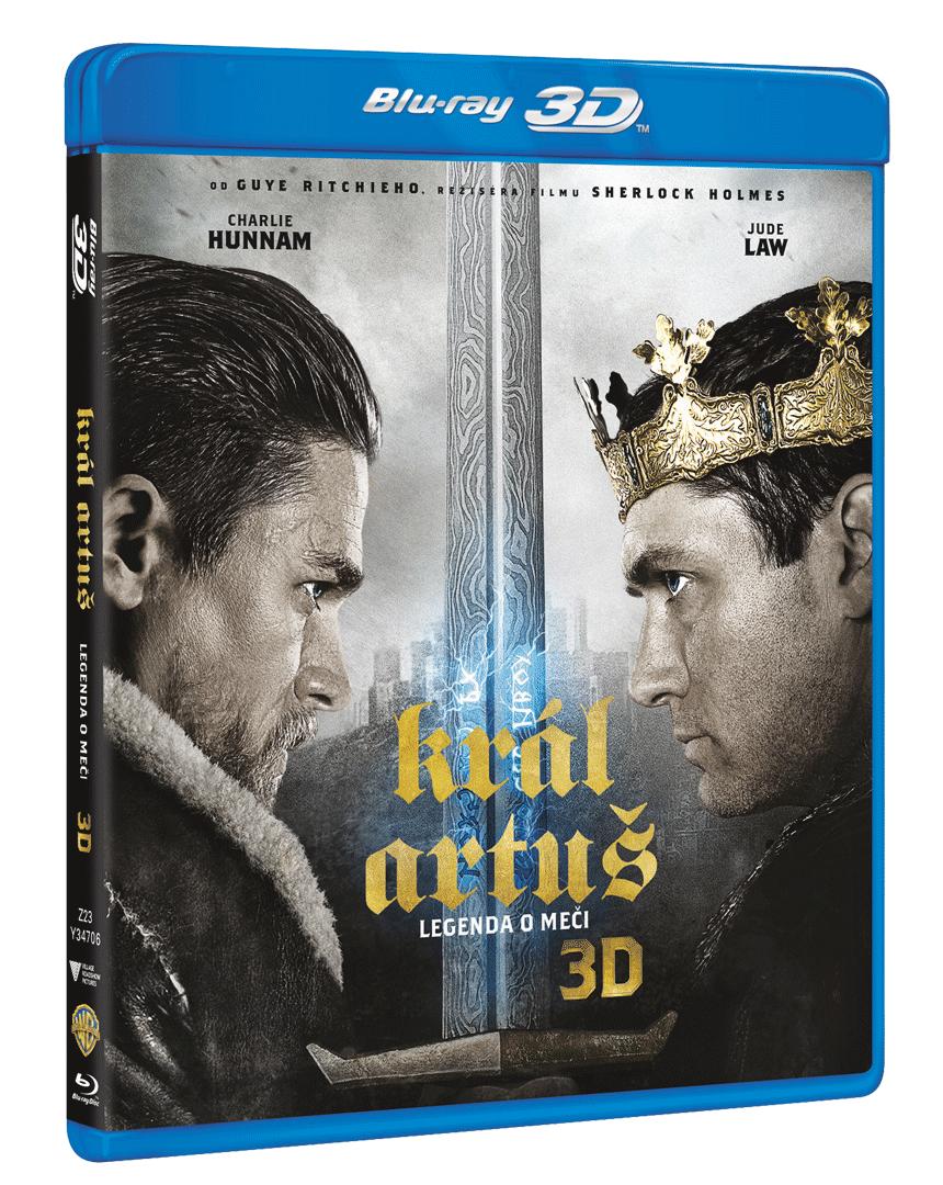 Král Artuš: Legenda o meči (Blu-ray) 3D + Blu-ray 2D)