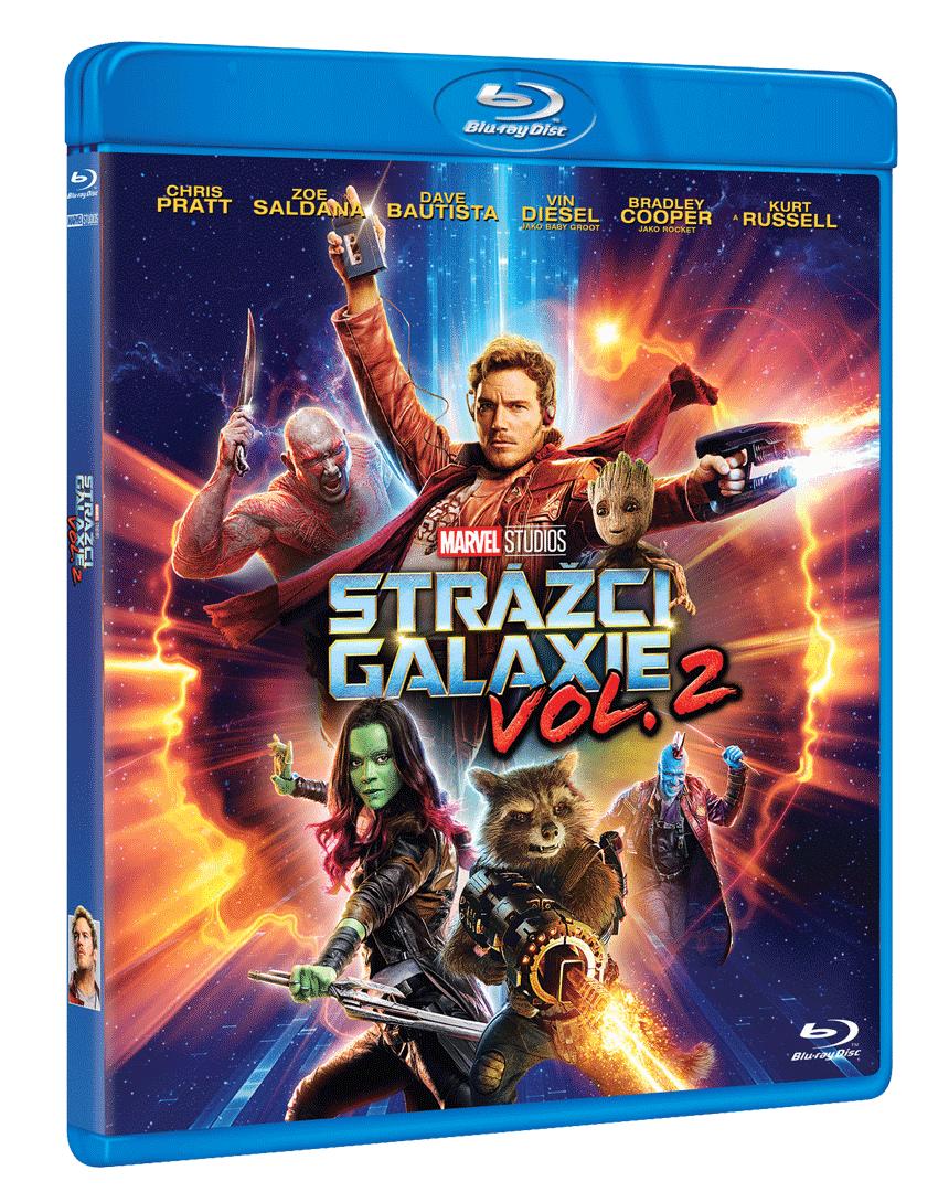 Strážci Galaxie Vol. 2 (Blu-ray)