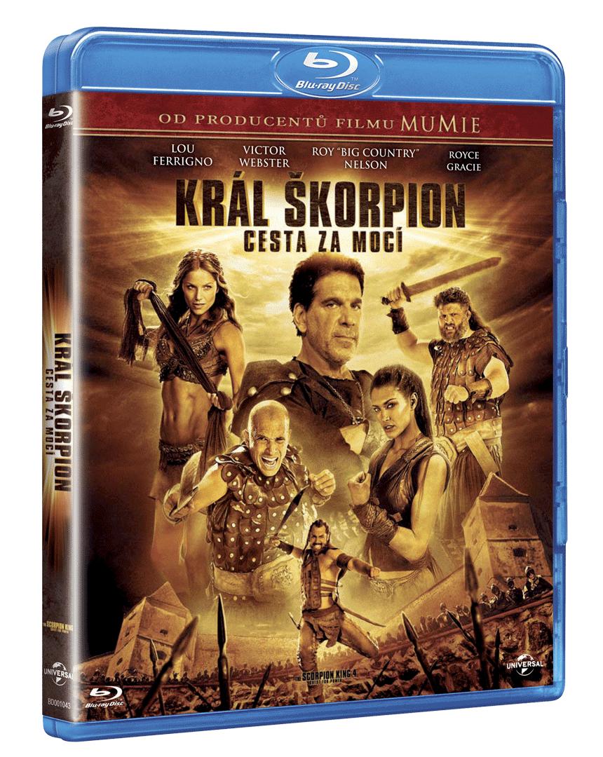 Král Škorpion: Cesta za mocí (Blu-ray)