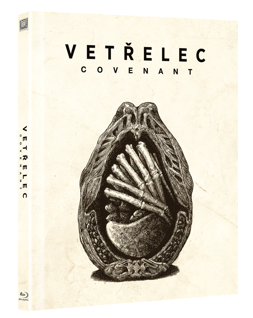 Vetřelec: Covenant (Blu-ray, Digibook)
