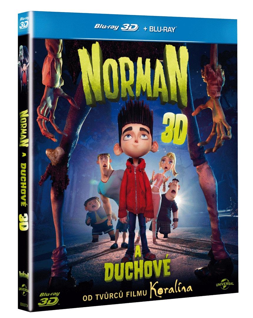 Norman a duchové (Blu-ray 3D + Blu-ray 2D)