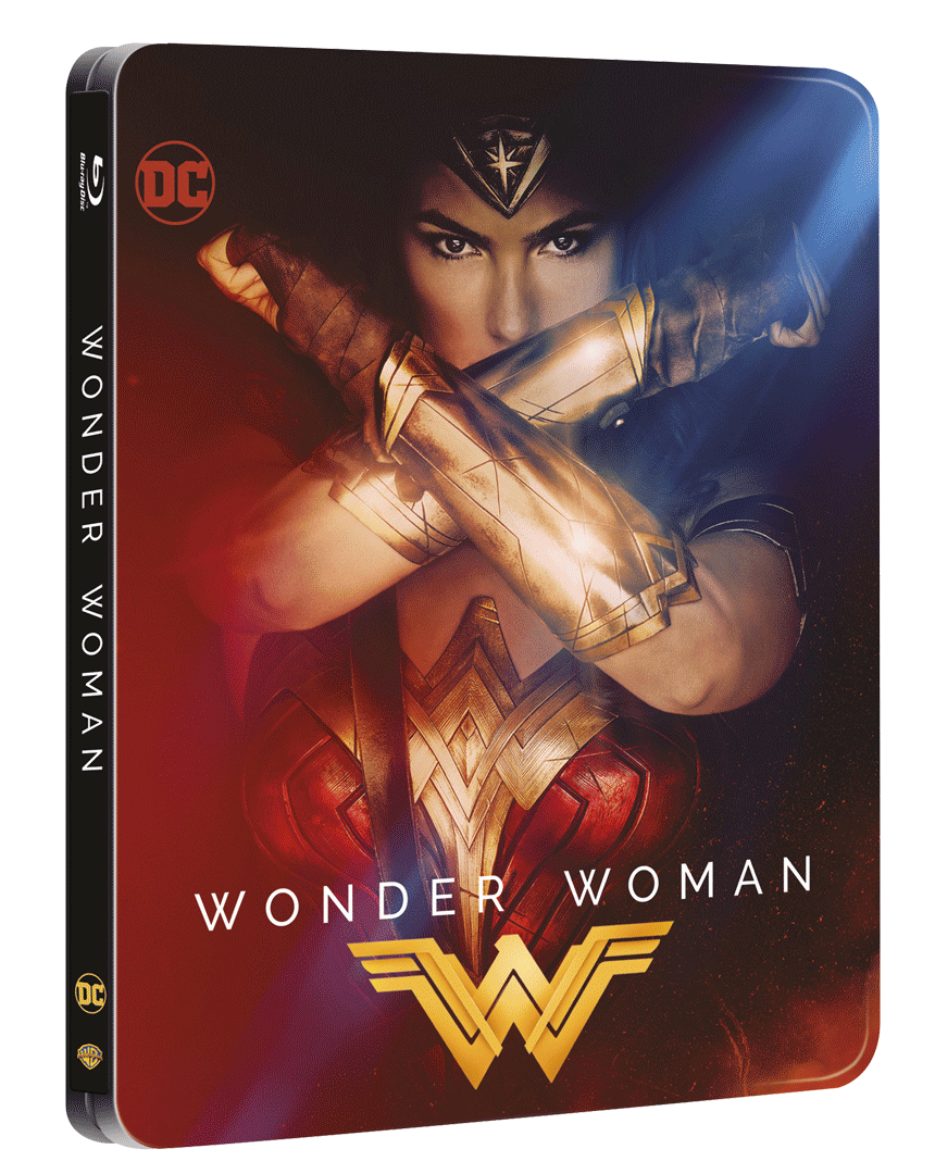 Wonder Woman (Blu-ray 3D + Blu-ray, Steelbook)