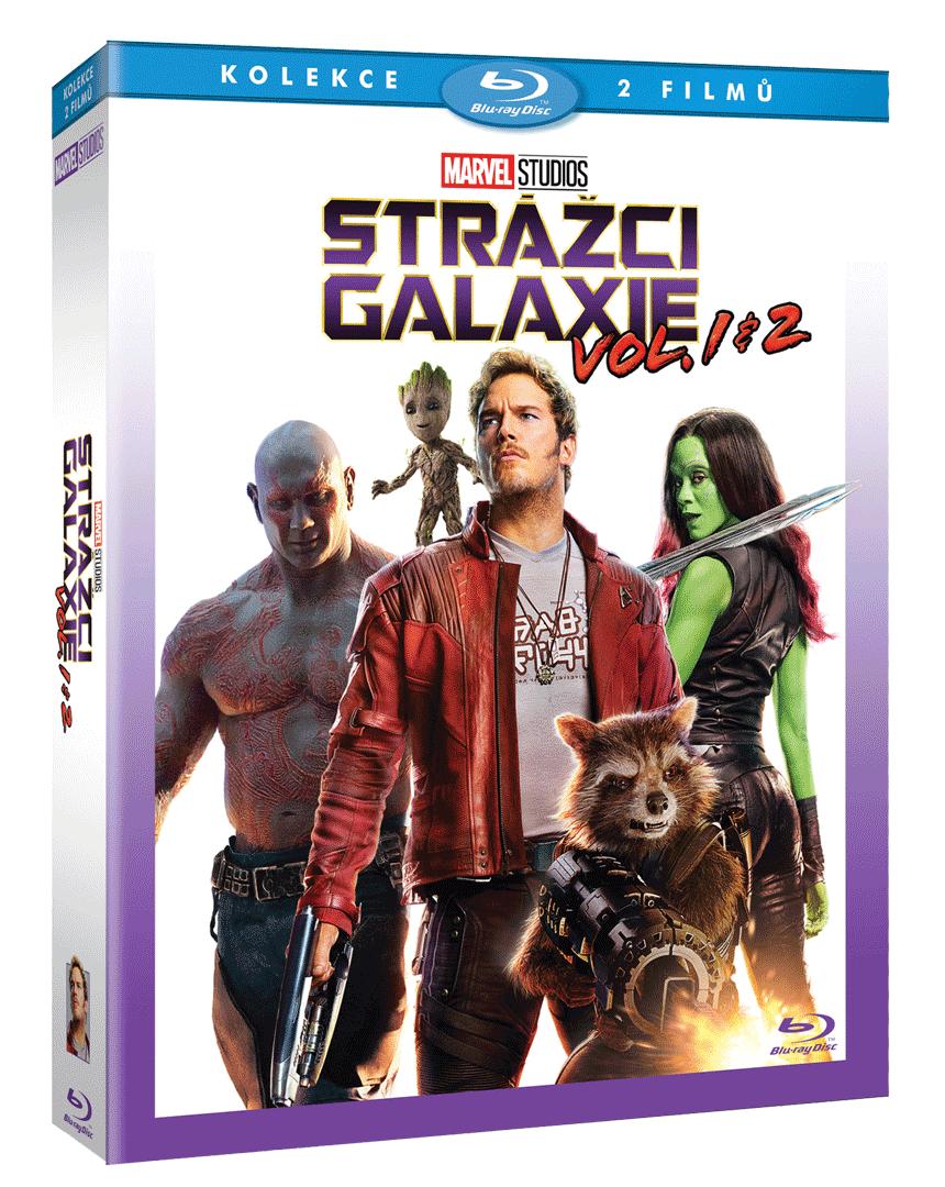 Strážci Galaxie (2x Blu-ray. Kolekce 1-2)