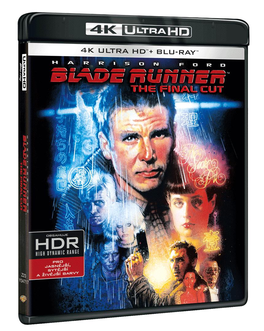 Blade Runner: The Final Cut (4k Ultra HD Blu-ray + Blu-ray + 2x bonusové DVD)