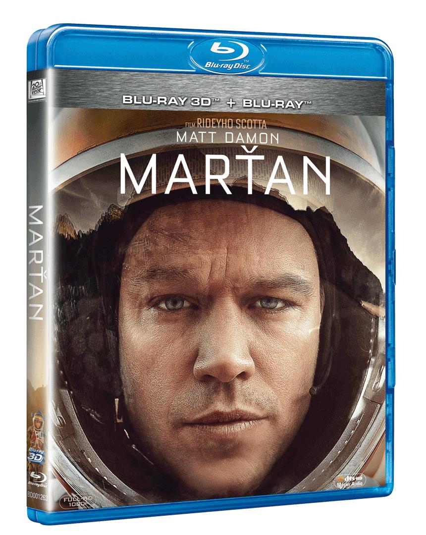 Marťan (Blu-ray 3D + 2D)