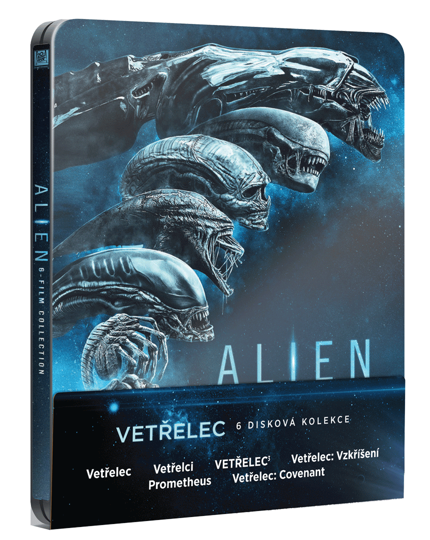 Vetřelec 1-4 + Prometheus + Covenant (Steelbook, 6x Blu-ray)