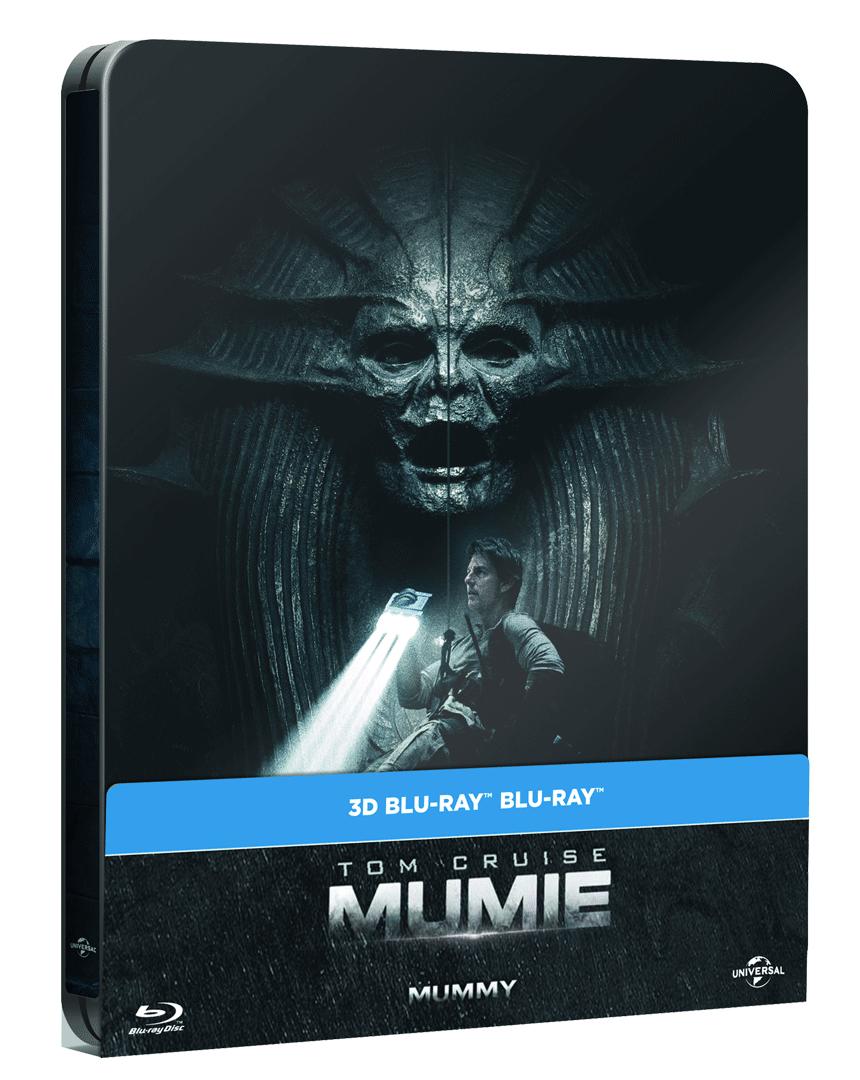 Mumie (2017, Steelbook, Blu-ray 3D + Blu-ray 2D)