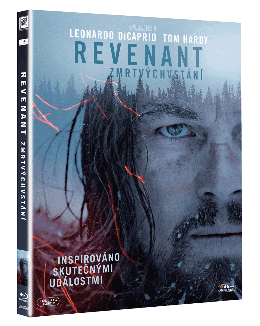 REVENANT Zmrtvýchvstání (Blu-ray)
