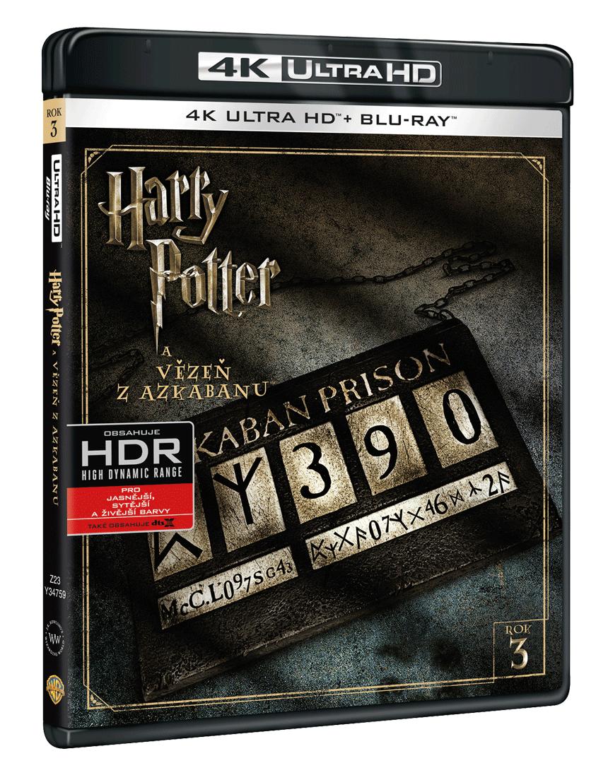 Harry Potter a Vězeň z Azkabanu (4k Ultra HD Blu-ray + Blu-ray)