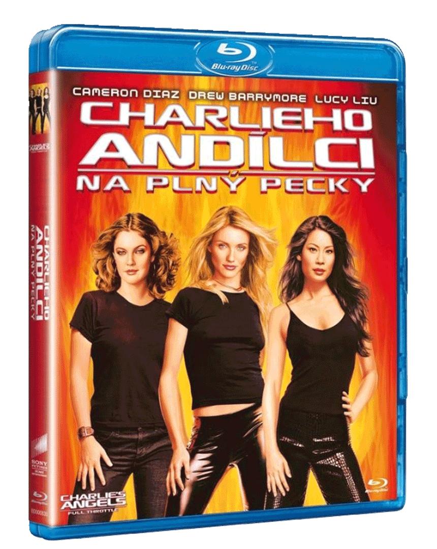 Charlieho andílci: Na plný pecky (Blu-ray)