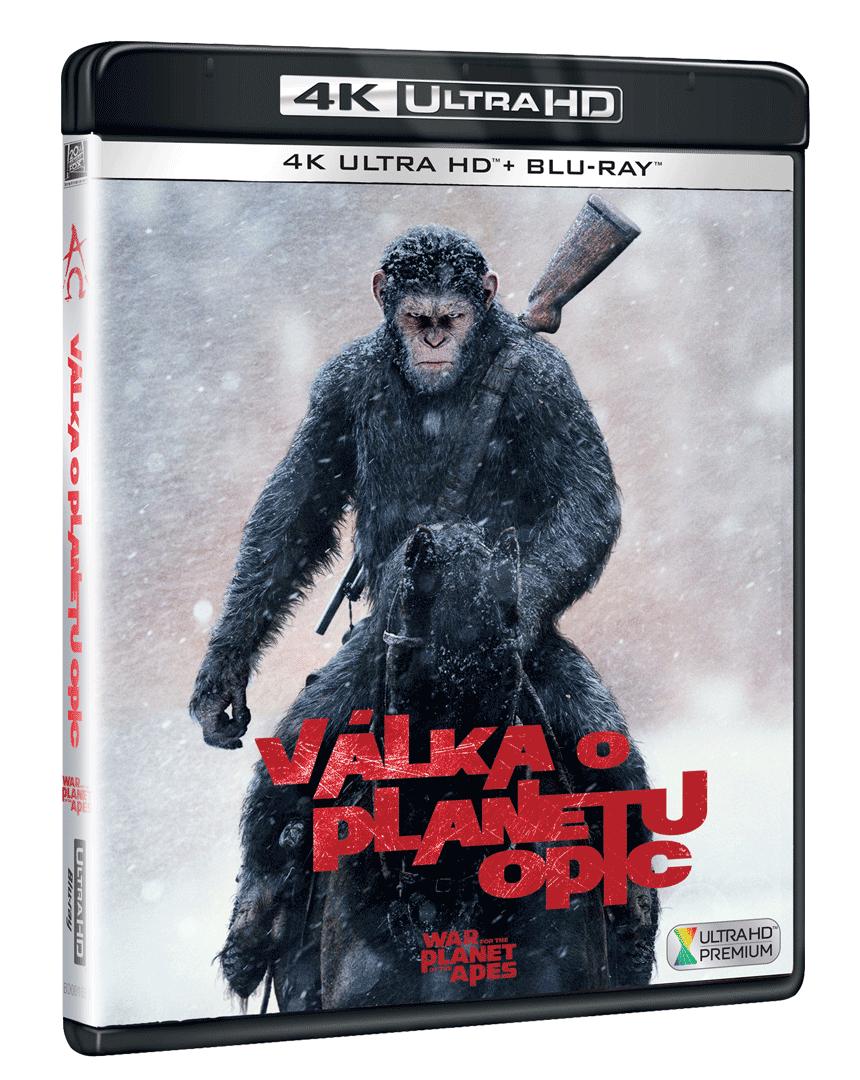 Válka o planetu opic (4k Ultra HD Blu-ray + Blu-ray)
