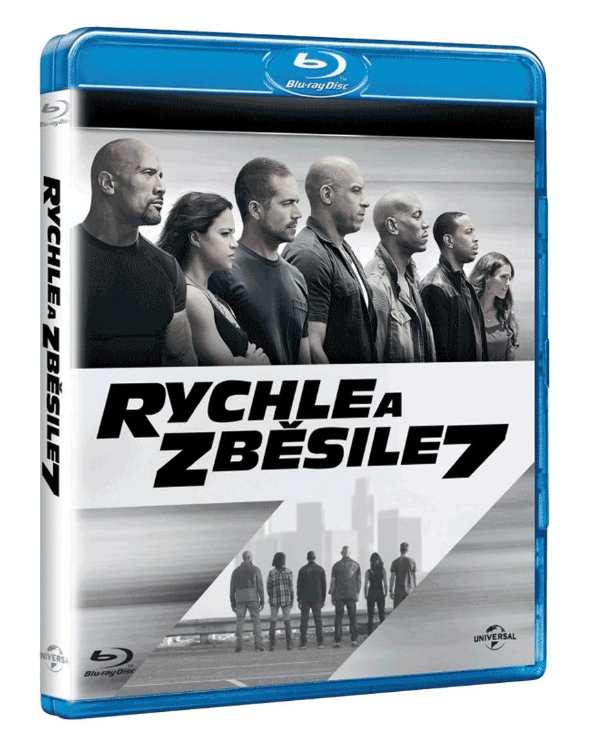 Rychle a zběsile 7 (Blu-ray)