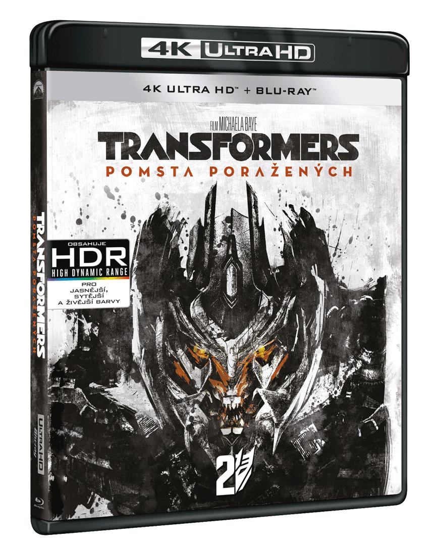 Transformers: Pomsta poražených (4k Ultra HD Blu-ray + Blu-ray)