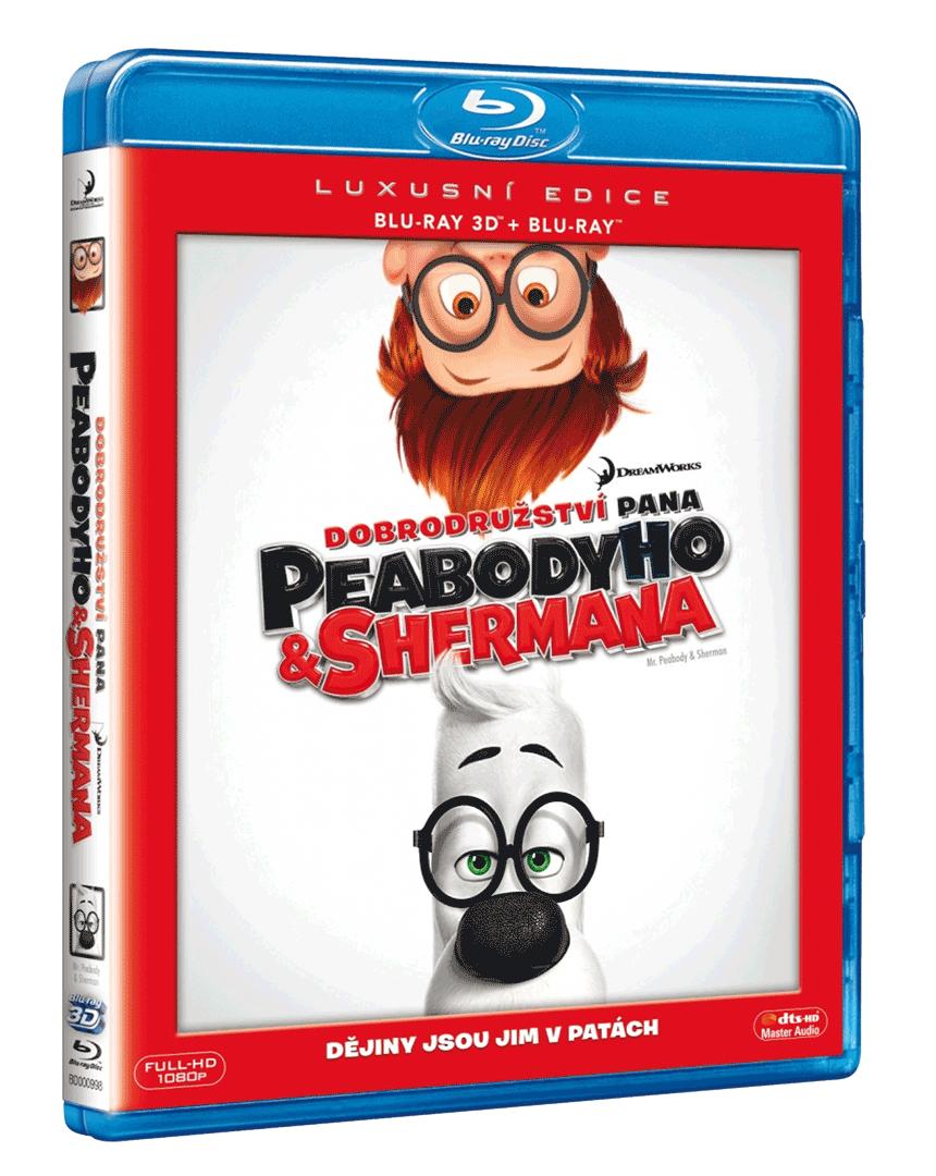Dobrodružství pana Peabodyho a Shermana (Blu-ray 3D + 2D)