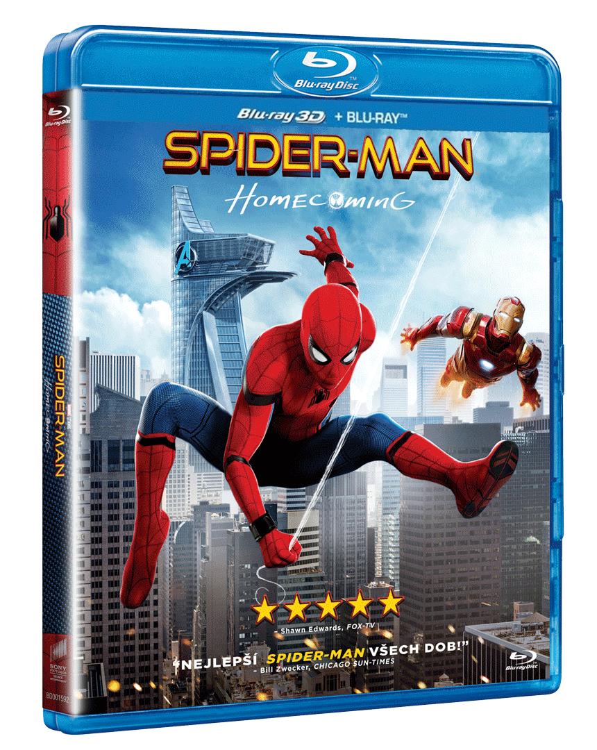 Spider-Man: Homecoming (Blu-ray 3D + Blu-ray 2D)