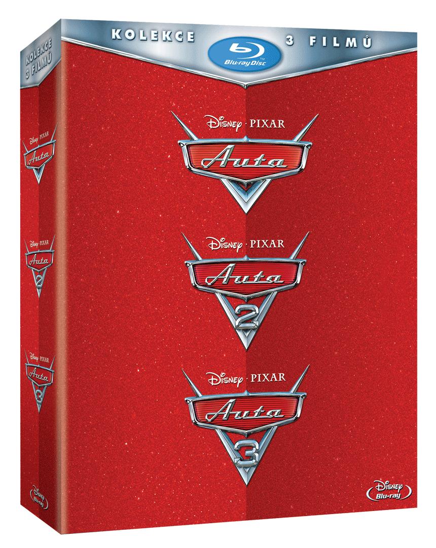 Auta (Kolekce 1-3, 3x Blu-ray)