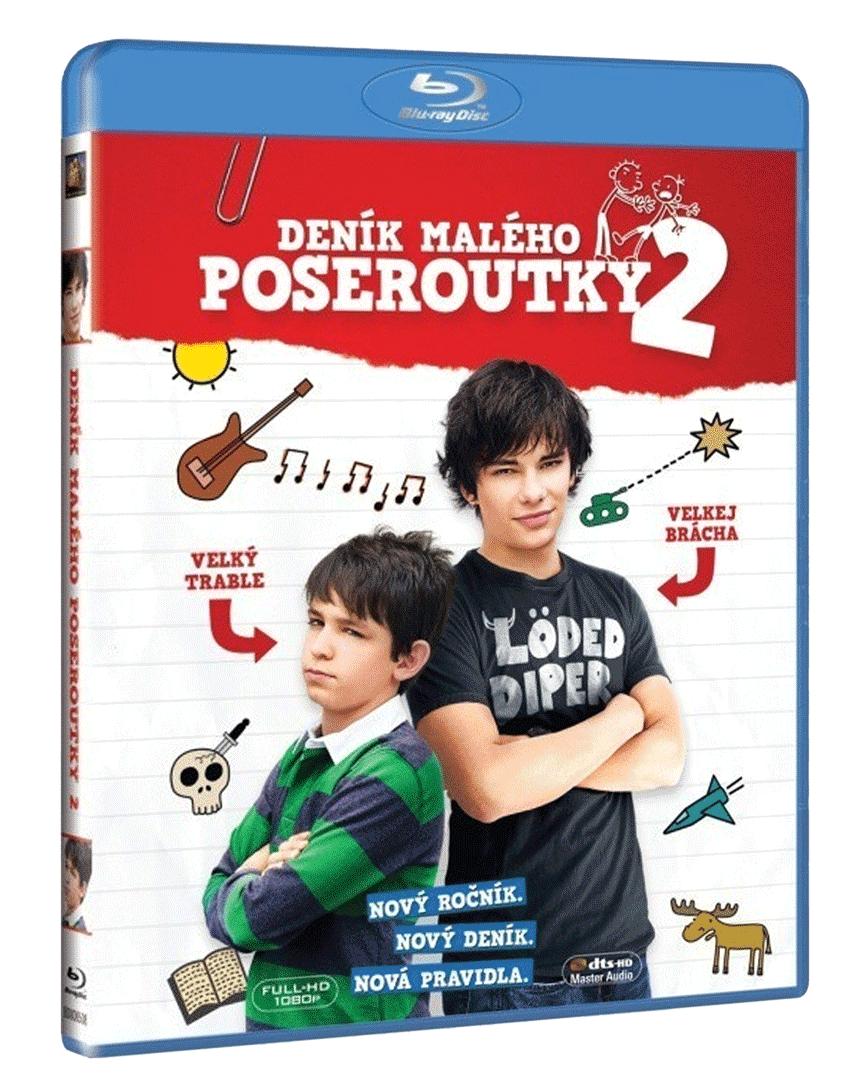 Deník malého poseroutky 2 (Blu-ray)