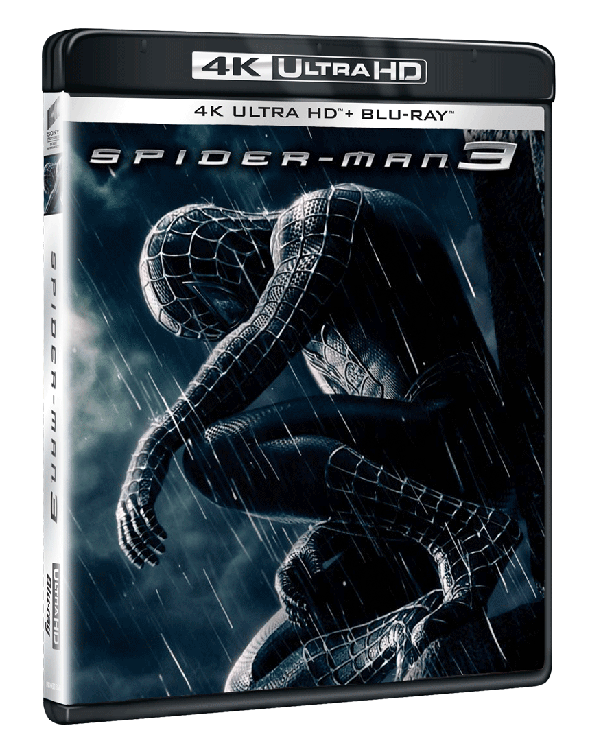 Spider-Man 3 (4k Ultra HD Blu-ray + Blu-ray)