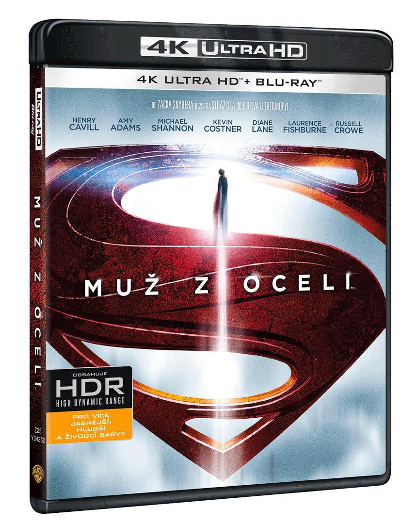 Muž z oceli (4k Ultra HD Blu-ray + Blu-ray)