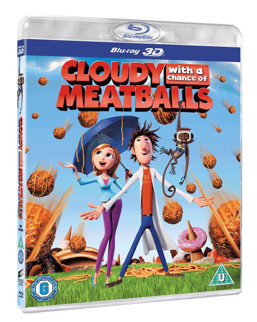 Zataženo, občas trakaře (Blu-ray 3D)