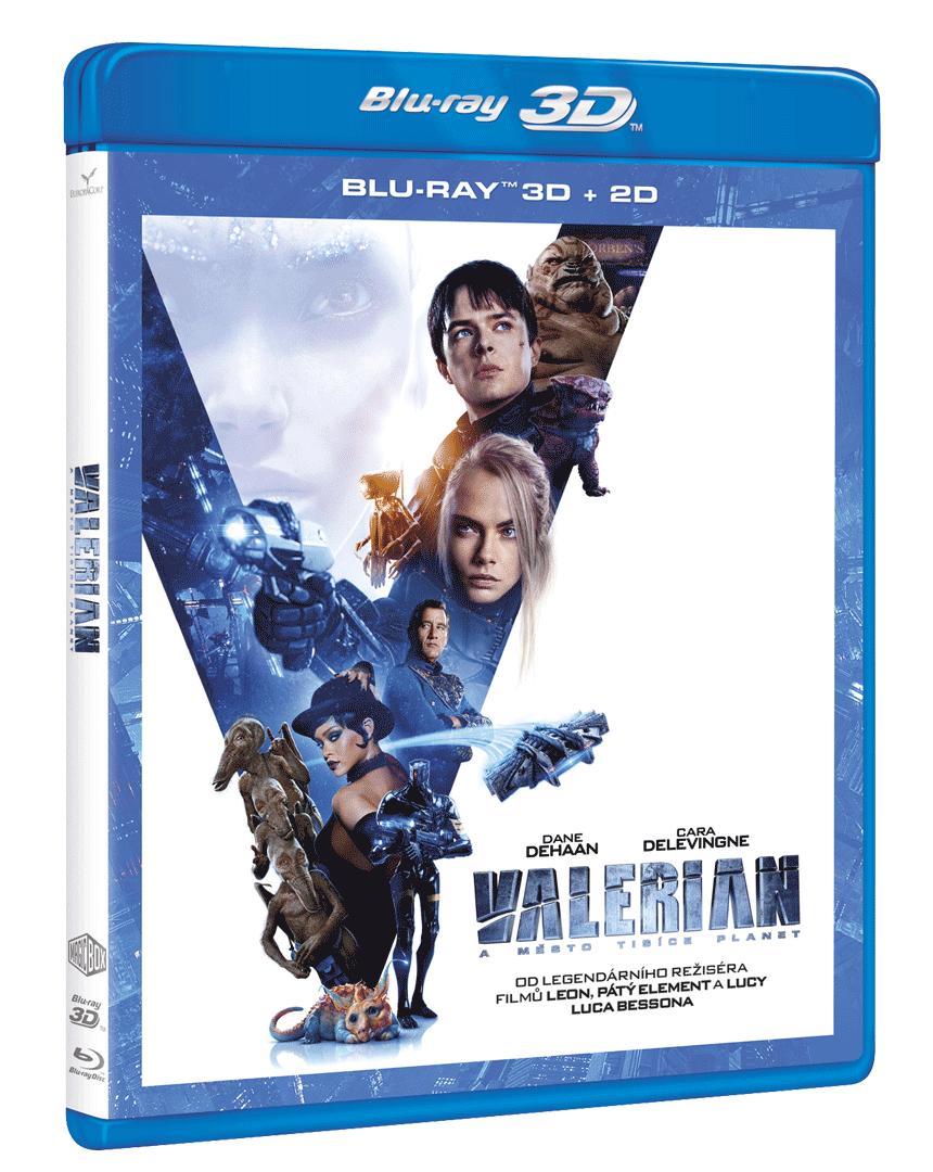 Valerian a město tisíce planet (Blu-ray 3D + Blu-ray 2D)
