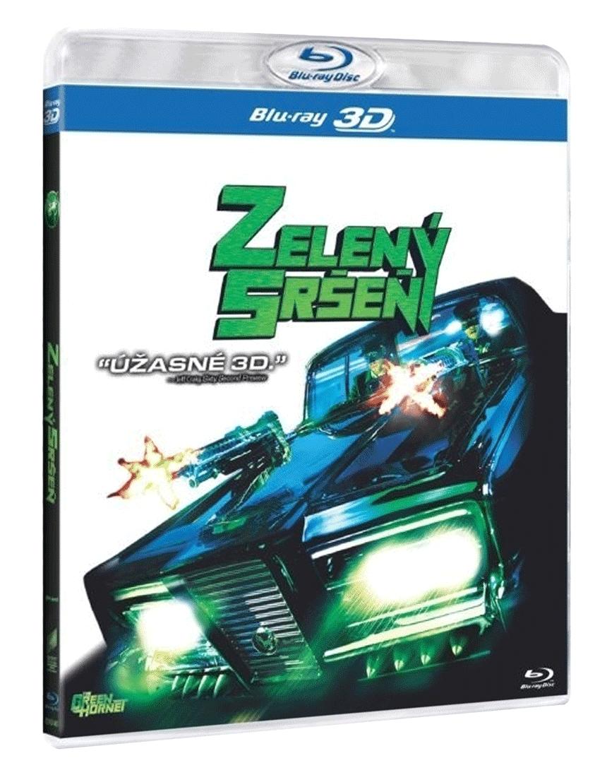 Zelený sršeň (Blu-ray 3D/2D)