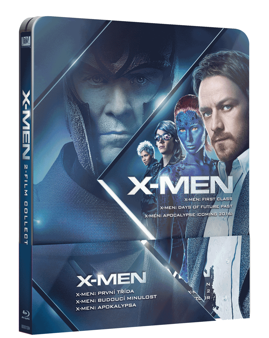 X-Men Trilogie 4-6 (Steelbook, 3x Blu-ray)