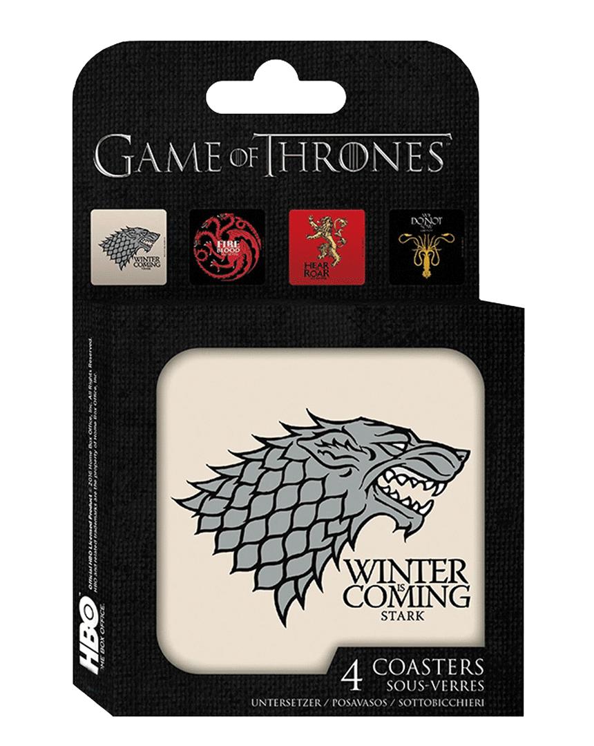 Podtácky Game of Thrones - Hra o trůny (4ks)