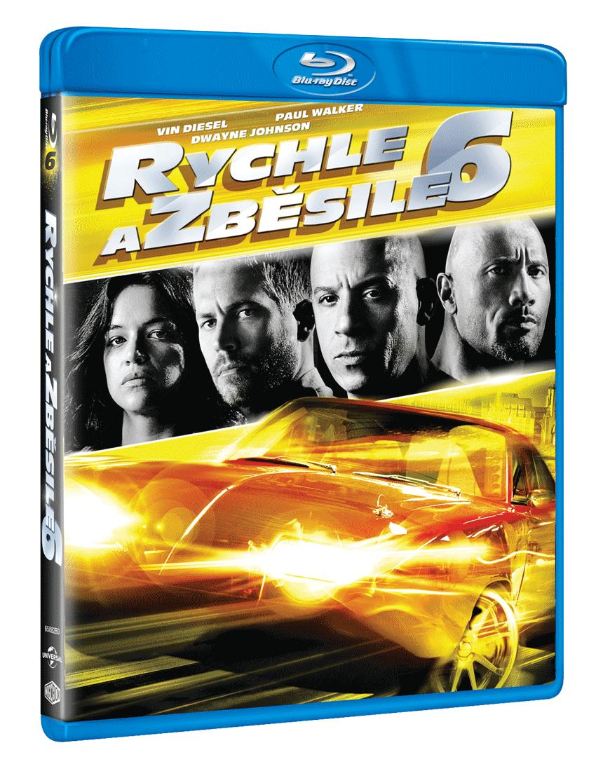Rychle a zběsile 6 (Blu-ray)