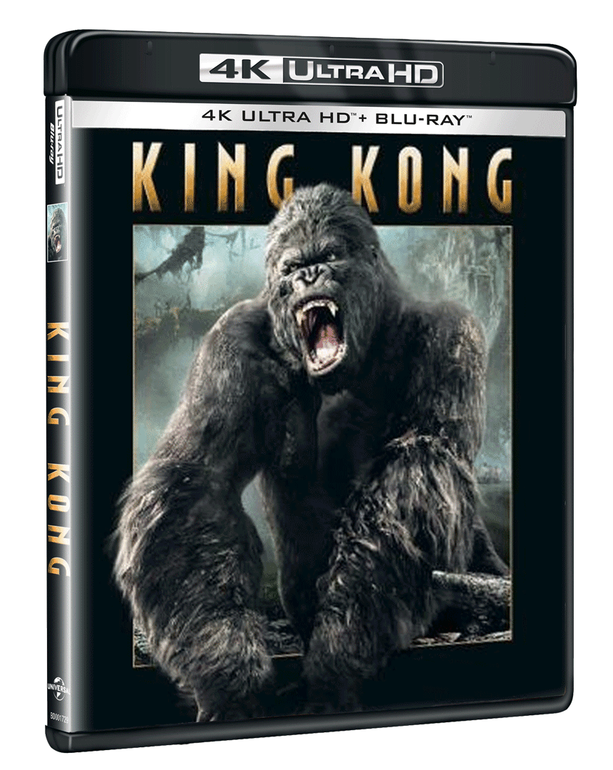 King Kong (4k Ultra HD Blu-ray + Blu-ray)