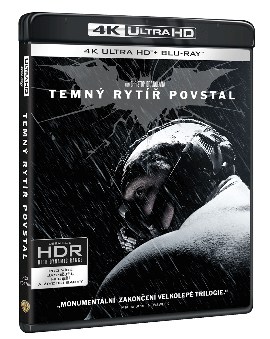 Temný rytíř povstal (4k Ultra HD Blu-ray + Blu-ray + Bonusový disk)